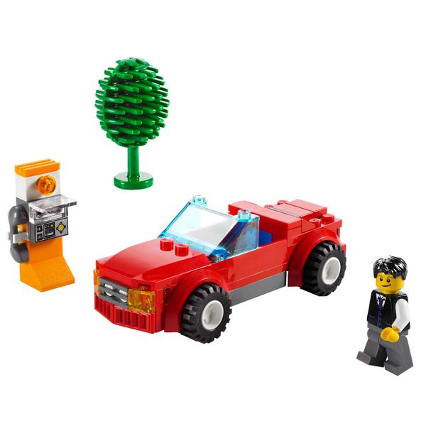 Lego City 8402 Конструктор Лего Город Спортивный автомобиль