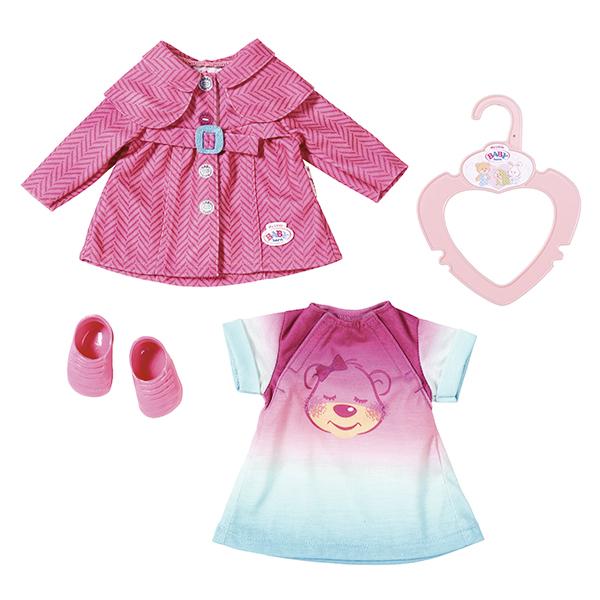 Zapf Creation Baby born 823-477 Бэби Борн Комплект одежды для прогулки, 32 см zapf creation my little baby born 823 149 бэби борн комплект одежды для дома 32 см