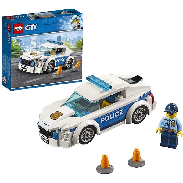 LEGO City 60239 Конструктор ЛЕГО Город Автомобиль полицейского патруля стоимость