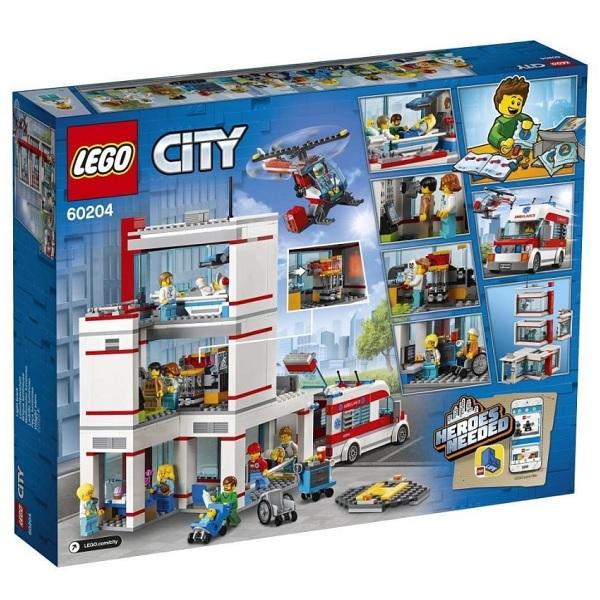 LEGO City 60204 Конструктор ЛЕГО Город Городская больница
