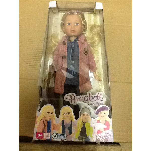 "Zapf Creation Annabell Tween 789-865_1 Аннабель Твин кукла ""Американка"", 42 см"