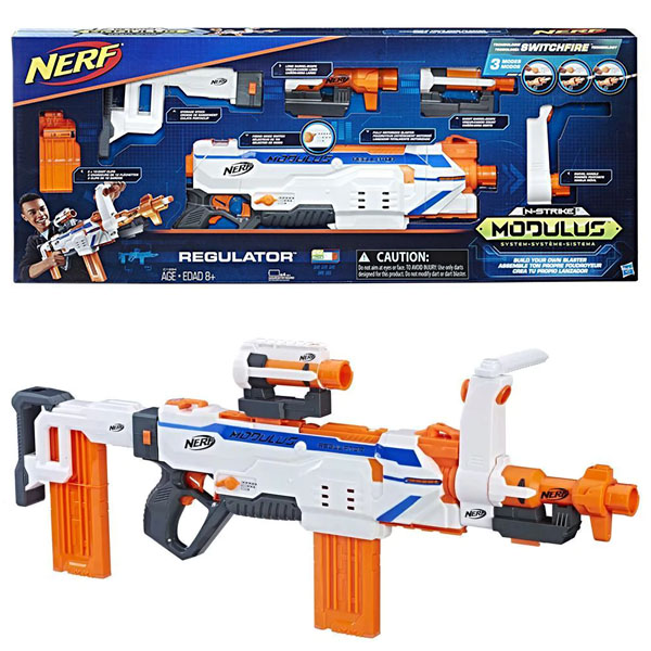 Hasbro Nerf C1294 Нёрф Модулус Регулятор (бластер) процессор intel core i5 6600 3 3ghz 6mb socket 1151 box