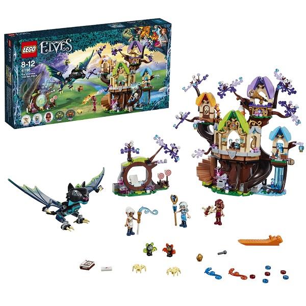 Lego Elves 41196 Конструктор Лего Эльфы Нападение летучих мышей на Дерево эльфийских звёзд чехол для iphone 5 5s объёмная печать printio lakers case pro