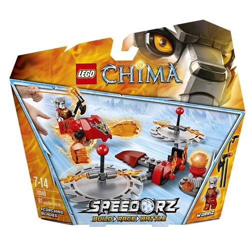 Lego Легенды Чима 70149 Конструктор Обжигающие лезвия