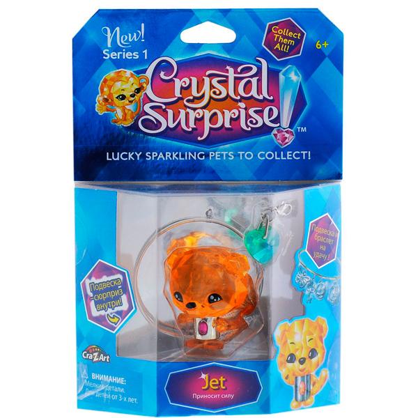 Crystal Surprise 45710 Кристал Сюрприз Фигурка Тигренок + браслет и подвески