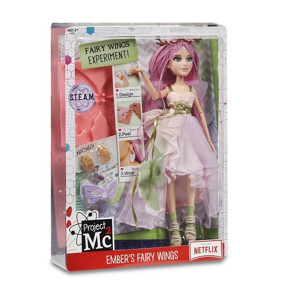 Project MС2 546900 Кукла Делюкс Эмбер с набором для экспериментов