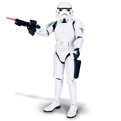 Интерактивная фигура Star Wars 31064 Звездные Войны Штурмовик 41, см со звук. и свет. эффектами