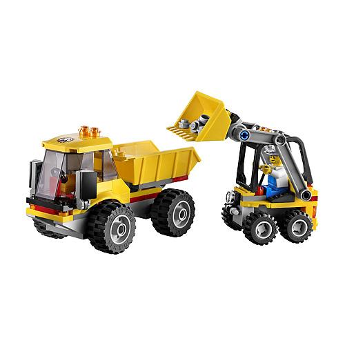 Lego City 4201 Конструктор Лего Город Погрузчик и самосвал