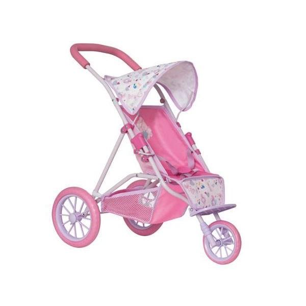 Zapf Creation Baby Born 1423565 Бэби Борн Коляска трехколесная с козырьком, 2018 коляска трехколесная bbh 713