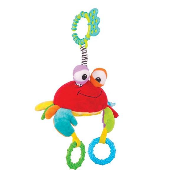 Happy Snail 14HS013PK Игрушка-подвес Краб Чарми игрушка подвес кто в яблоке живёт happy snail 17hs02pa