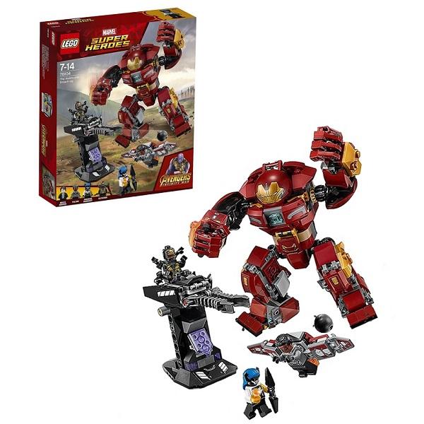 Lego Super Heroes 76104 Конструктор Лего Супер Герои Бой Халкбастера lego lego super heroes 76031 разгром халкбастера