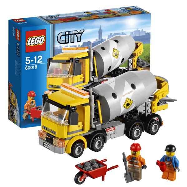 Lego City 60018 Конструктор Лего Город Бетономешалка