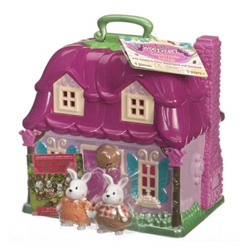 Li'l Woodzeez 6103M Лил Вудзиз Загородный домик в наборе с 2 героями, пластмасса