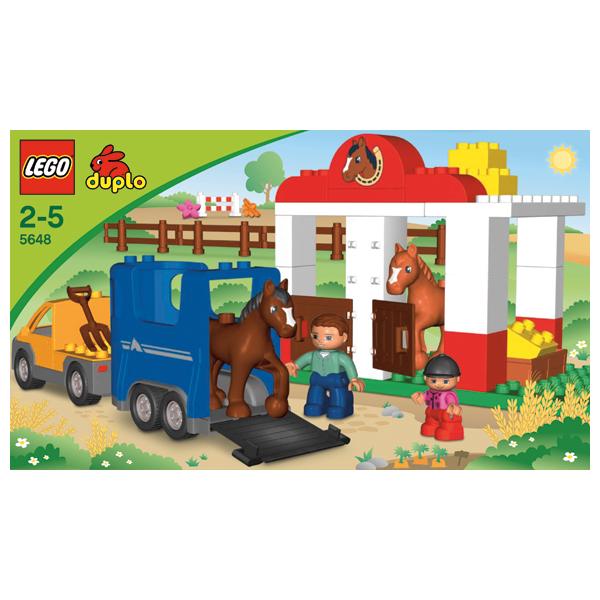 Лего Дупло 5648 Конструктор Конюшня