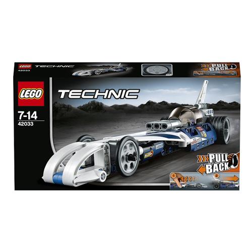 Конструктор Lego Technic 42033 Лего Техник Рекордсмен