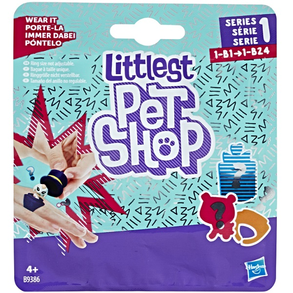 Hasbro Littlest Pet Shop B9386 Пет в закрытой упаковке