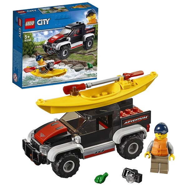 цена на LEGO City 60240 Конструктор Лего Город Сплав на байдарке