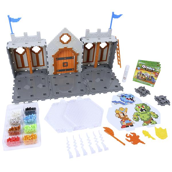 Qixels 87028 Квикселс Набор для творчества Королевство Захват Замка набор для творчества qixels поединок с драконом 87108