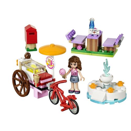 Конструктор Lego Friends 41030 Лего Подружки Оливия и велосипед с мороженым