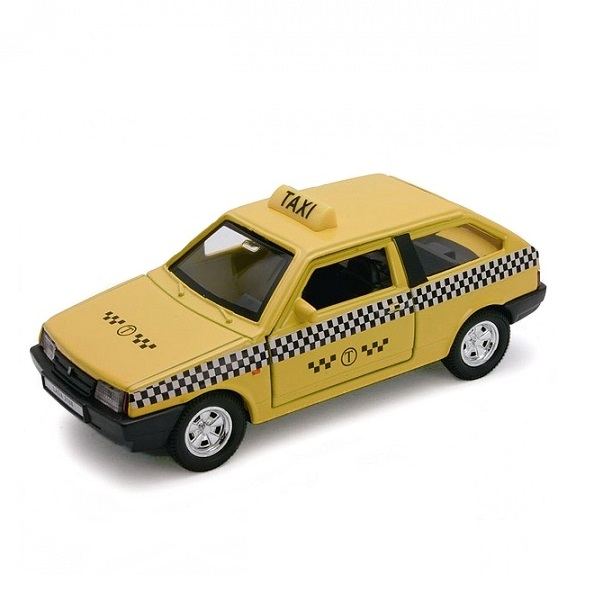 Welly 42377TI Велли Модель машины 1:34-39 LADA 2108 ТАКСИ машины welly модель машины 1 34 39 lada 2108