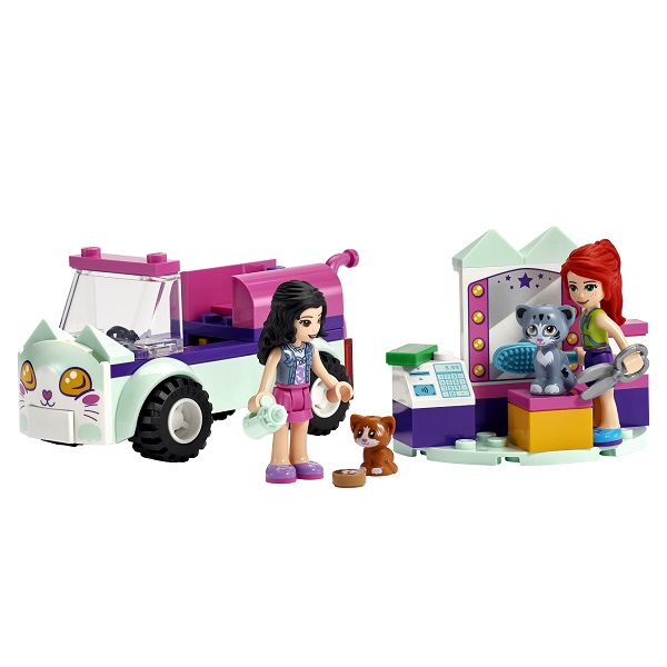 LEGO Friends 41439 Конструктор ЛЕГО Подружки Передвижной груминг-салон для кошек