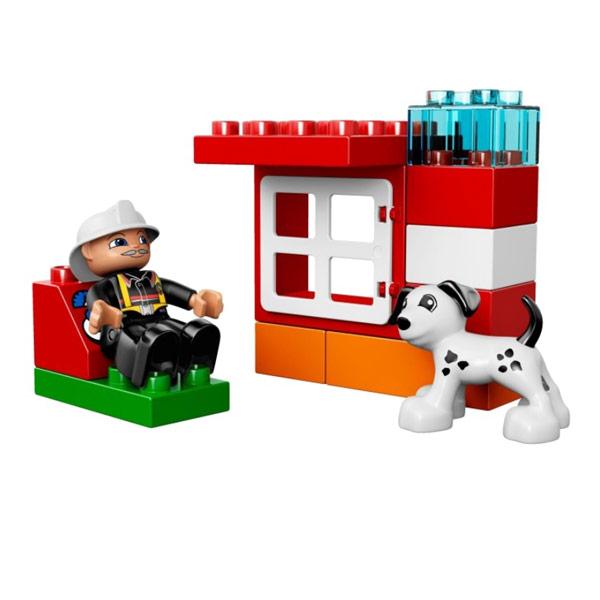 Лего Дупло 10591 Конструктор Пожарный катер