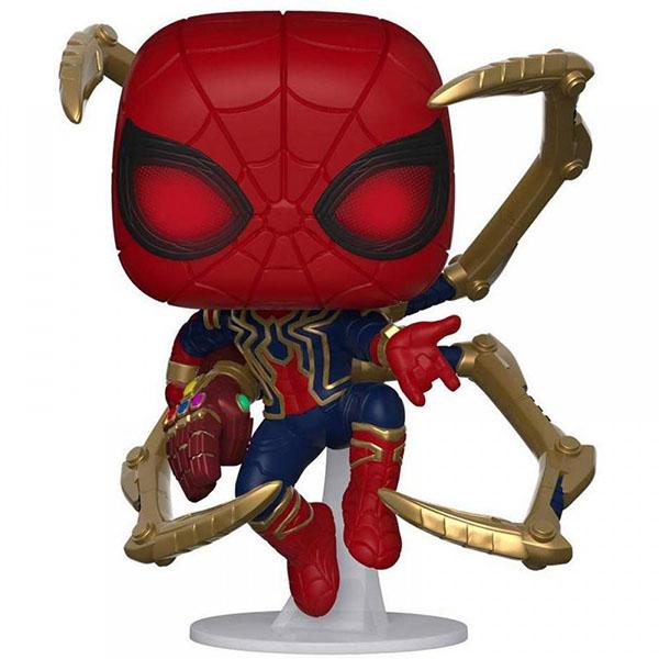 Funko 45138F Фигурка Funko POP! Bobble: Marvel: Avengers Endgame: Iron Spider w/NanoGauntlet 45138