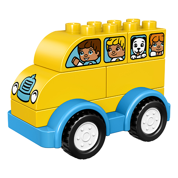 Lego Duplo 10851 Конструктор Лего Дупло Мой первый автобус