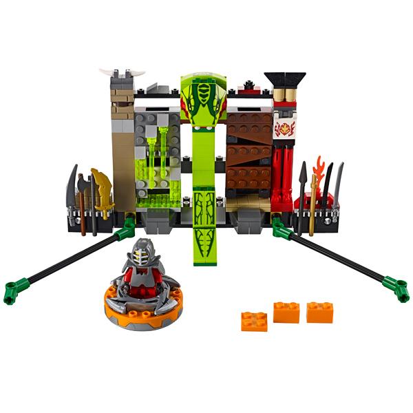 Lego Ninjago 9558 Конструктор Лего Ниндзяго Тренировка для ниндзя