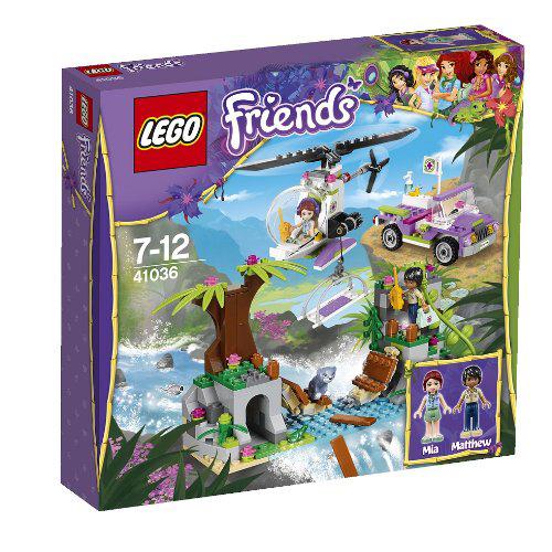 Конструктор Lego Friends 41036 Лего Джунгли: Спасательная операция на мосту