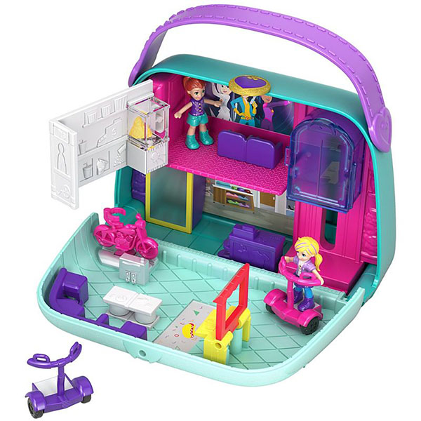 Mattel Polly Pocket GCJ86 Игровой наборМир Полли mattel polly pocket fry98 комната полли