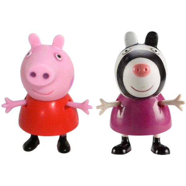 Peppa Pig 28814 Свинка Пеппа Фигурки Пеппа и Зои peppa pig игровой набор пеппа и друзья 24312 6 фигурок