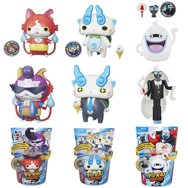 Hasbro Yokai Watch B5946_9 Йо-кай Вотч: Меняющаяся фигурка с Медалью (в ассортименте)
