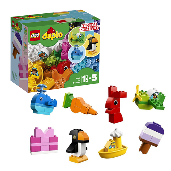 Лего Дупло 10865 Конструктор Весёлые кубики