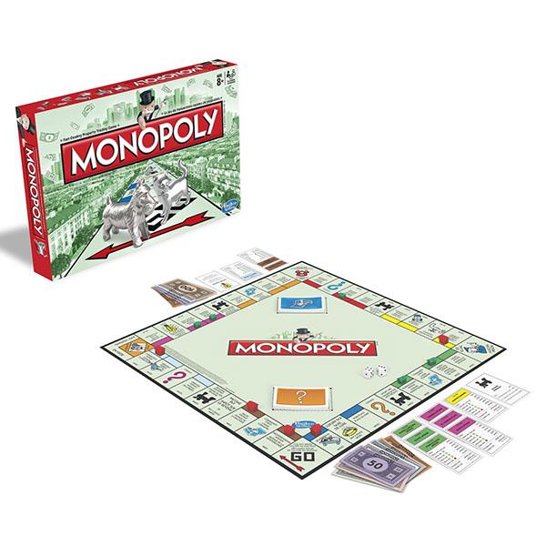 Hasbro Monopoly 00009 Игра Монополия Классическая