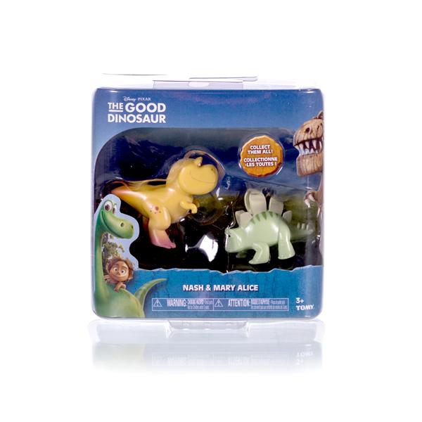 Good Dinosaur 62303 Хороший Динозавр Фигурки Нэш и Стегозавр