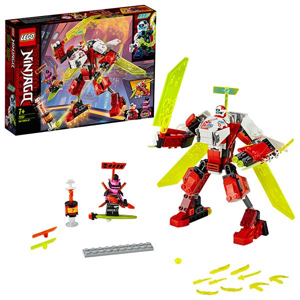 LEGO Ninjago 71707 Конструктор ЛЕГО Ниндзяго Реактивный самолёт Кая конструктор lego ninjago 70657 порт ниндзяго сити