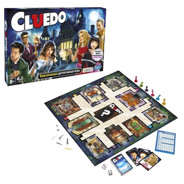 Hasbro Other Games 38712 Настольная игра Клуэдо настольная игра hasbro hasbro настольная игра games игра клуэдо обновленная