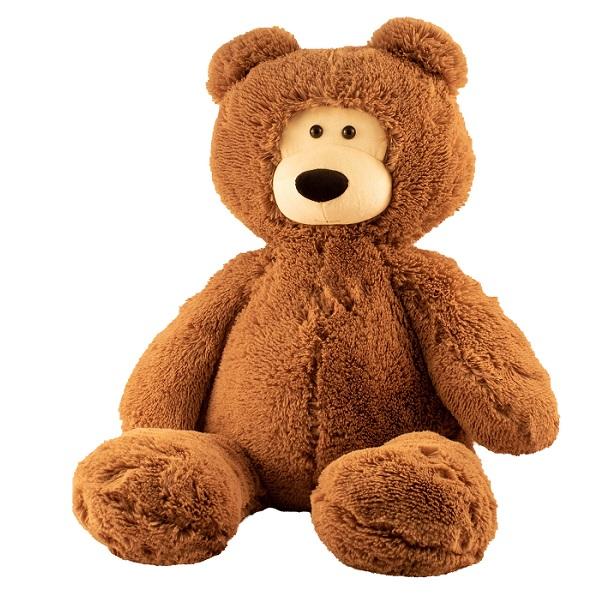 SOFTOY UT-90002 Игрушка мягкая Медведь, 90 см., коричневый
