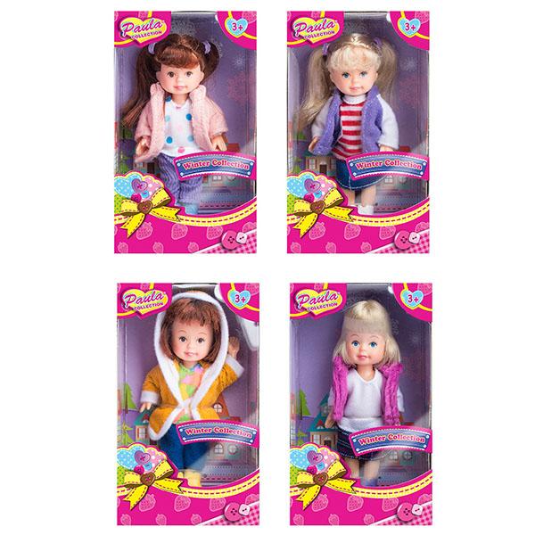 """цены на Paula MC23005 Игрушка кукла """"Зимний наряд"""" (в ассортименте)  в интернет-магазинах"""