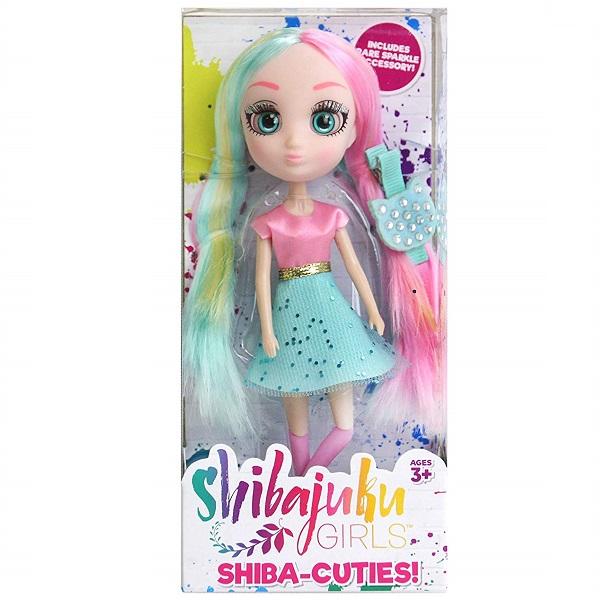 Shibajuku Girls HUN6876 Кукла Шидзуки 2, 15 см
