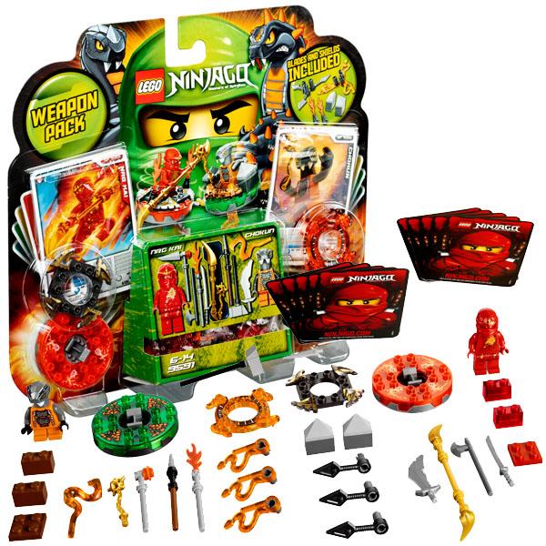 Lego Ninjago 9591 Конструктор Лего Ниндзяго Набор для сражений