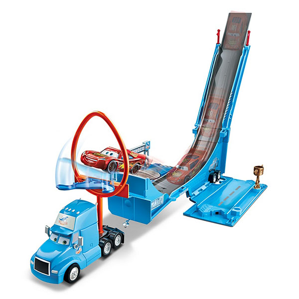 Mattel Cars DHF52 Трек-трансформер Супер прыжок mattel mattel игровой набор cars большой гараж