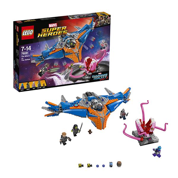Lego Super Heroes 76081 Лего Супер Герои Милано против Абелиска конструктор lego marvel super heroes реактивный самолёт мстителей 76049