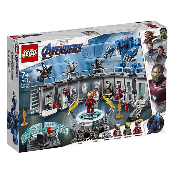 LEGO Super Heroes 76125 Конструктор ЛЕГО Супер Герои Лаборатория Железного человека