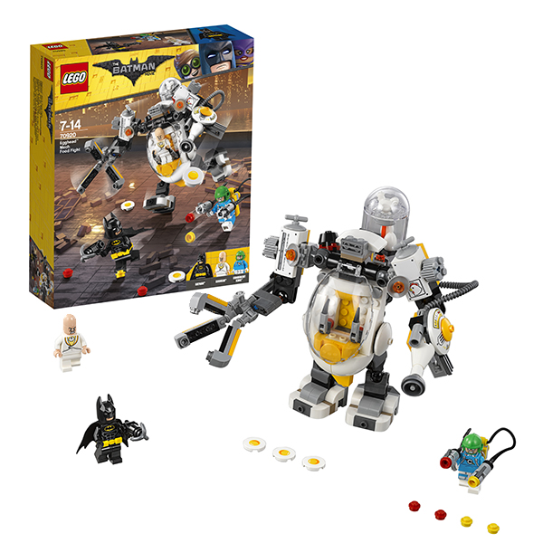 Lego Batman Movie 70920 Конструктор Лего Фильм Бэтмен: Бой с роботом Яйцеголового