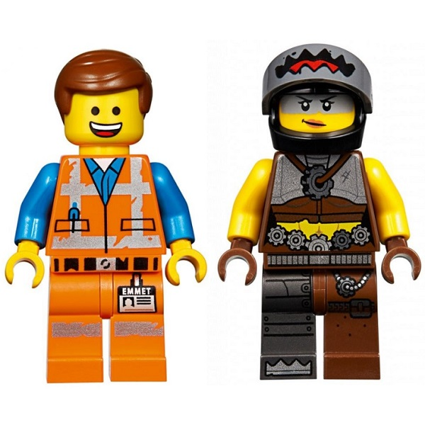 Конструктор Lego Movie 2 70829 Конструктор 2 Побег Эммета и Дикарки на багги