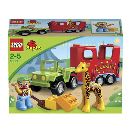 Конструктор Lego Duplo 10550 Лего Дупло Цирковой автофургон
