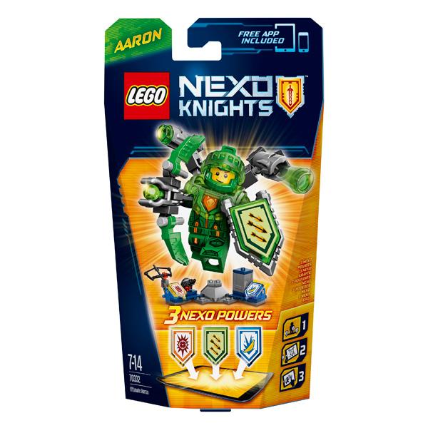 Lego Nexo Knights 70332 Конструктор Лего Нексо Аарон – Абсолютная сила
