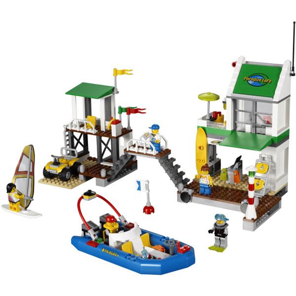 Lego City 4644 Конструктор Лего Город Пристань для яхт